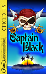 SF Captain Black GOLD 0mg-50ml